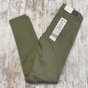 NWT Celebrity Pink Dusky Green Skinny Jeans